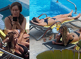 Big Brother's Chanelle Hayes and Chantelle Houghton in Bikinis on Holiday