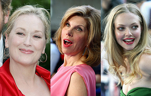 Interview with Meryl Streep, Christine Baranski and Amanda Seyfried About Mamma Mia!