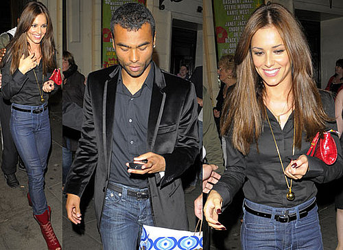 Photos Of Cheryl Cole and Ashley Cole At The Theatre In London