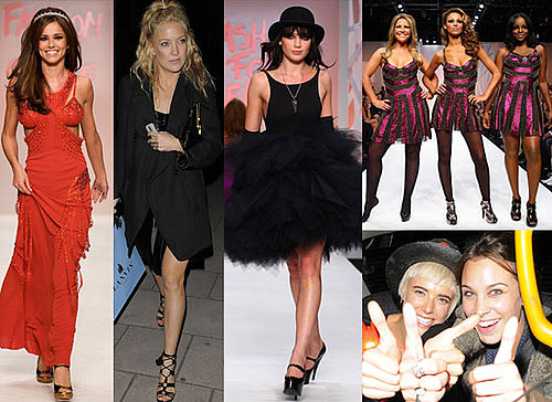 Gallery Of Photos Of Celebrities At London Fashion Week s/s 2009 Including Cheryl Cole, Goldie Hawn, Alexa Chung, Kate Hudson...