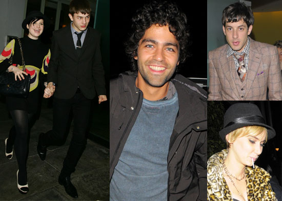Photos Of Adrian Grenier, Mark Ronson, Kelly Osbourne, Luke Worrell and Kimberly Stewart At Bungalow 8 In London