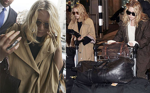 Photos Of Mary-Kate And Ashley Olsen At Heathrow Airport, London