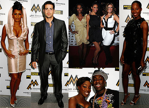 Photos From The Red Carpet At The 2008 Mobo Awards Featuring Mel B, Estelle, Jamelia, Alesha Dixon, Sugababes