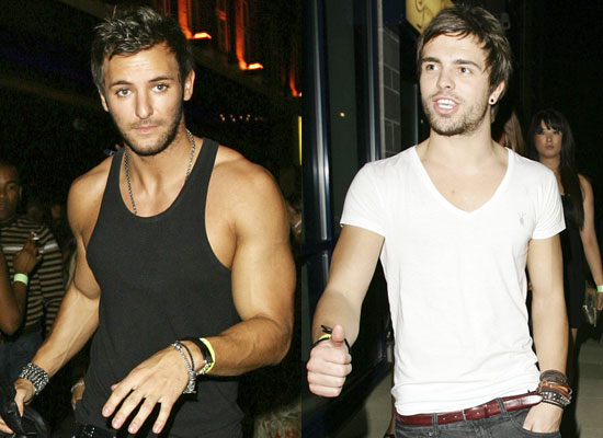 Photo Gallery Of Big Brother 9's Dale Howard and Stuart Pilkington With His Muscles Out