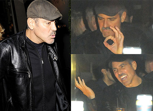 Photos Of George Clooney and Matt Damon In London, Facial Expressions, Brad Pitt Shares Secret To Snaring Him: Chippendales!