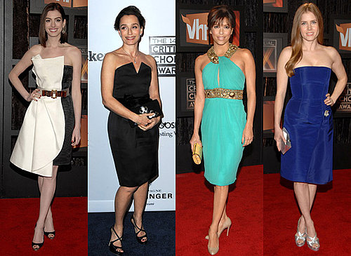 Knee Skimming Dresses at Critics Choice Awards 2009