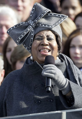 Fab Flash: Aretha Starts Hat Trend