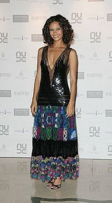 Guess Who Designed Thandie Newton's Dress?