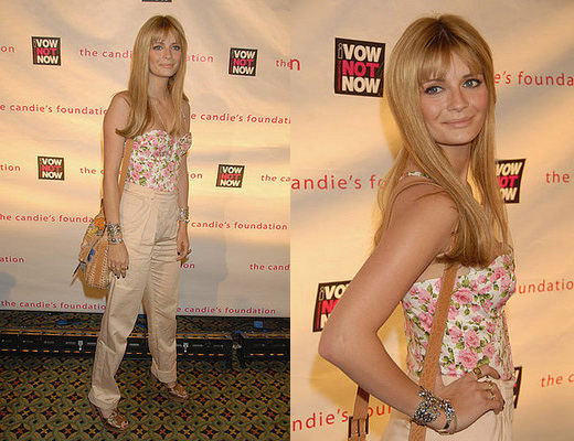 Celeb Style: Mischa Barton at Candie's Foundation Event to Prevent Benefit