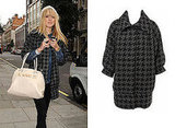 Celeb Style, Fearne Cotton, Miss Selfridge, Houndstooth Coat