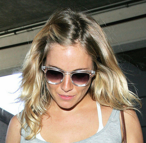 how to get Sienna Miller and Kate Moss messy hair