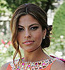 Eve Mendes at Dior Fashion Show haute courture, love or hate her look?