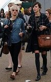 Alexa Chung and Pixie Geldof at O2 Wireless Festival