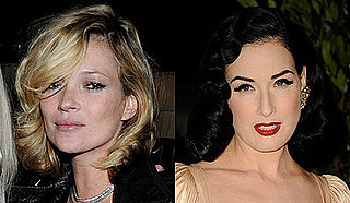 How To Get Flawless Foundation Like Kate Moss and Dita Von Teese