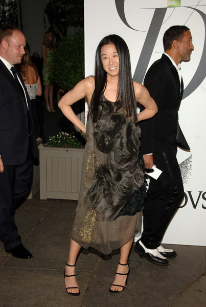 Vera Wang in her own design.