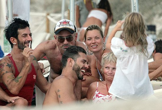 Marc Jacobs and Lorenzo Martone Get Their Beach On With Kate Moss