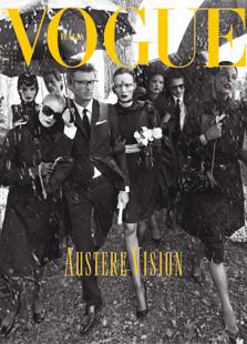 August 2008 Vogue Italia: Still A Fan of Black Clothes, But What About Black Models?
