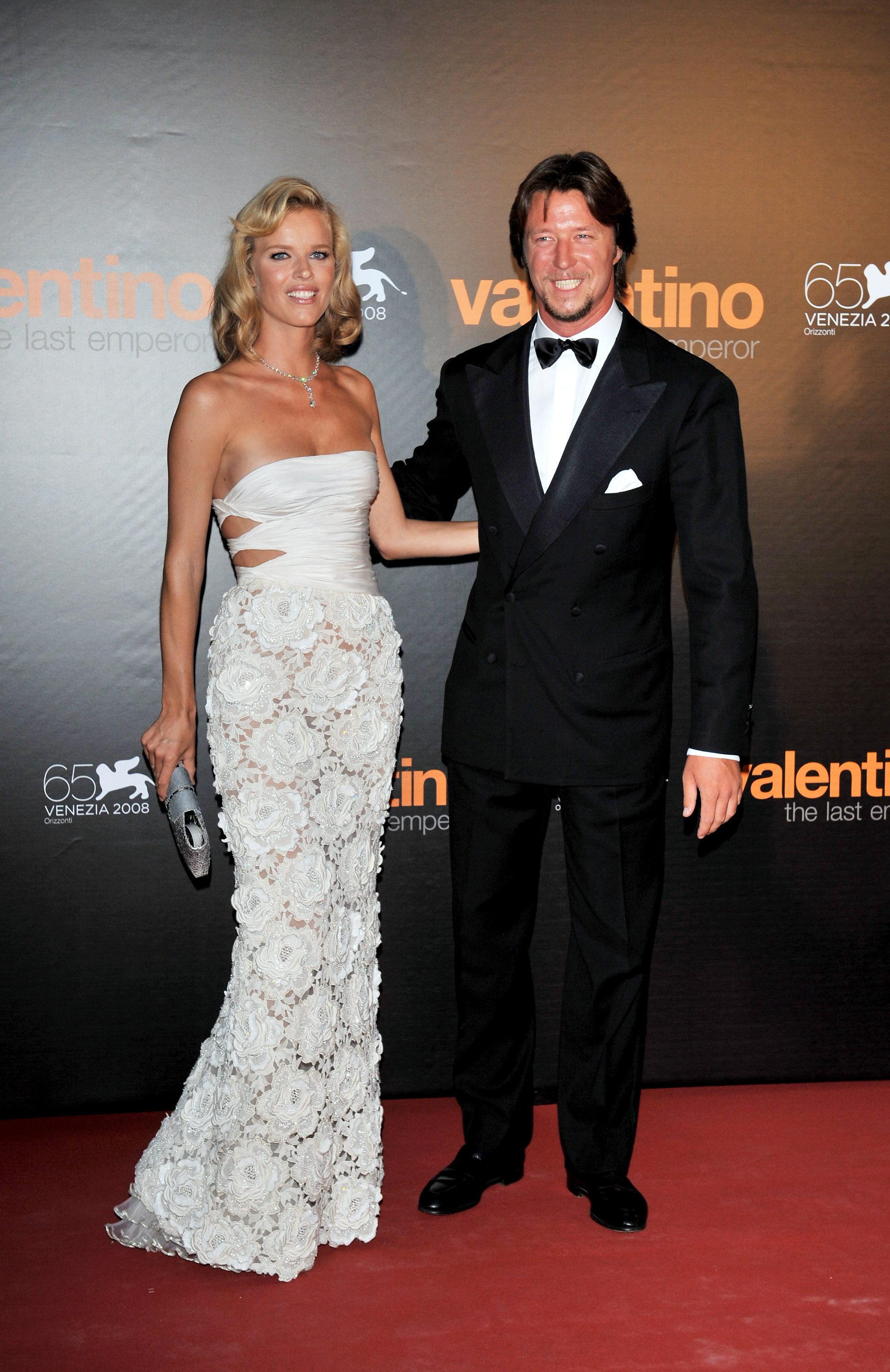 Eva Herzigova and Gregorio Marsiaj