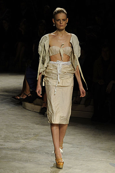 Miuccia Prada Goes Fishing for Crumpled Clothes