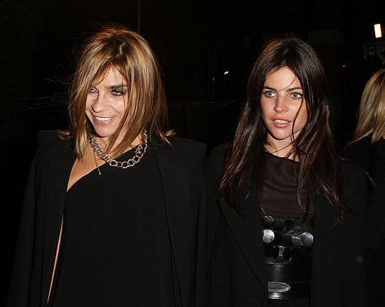 Carine Roitfeld, Julia Restoin-Roitfeld.