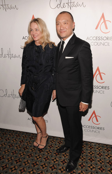 Elle's Anne Slowey and Joe Zee.