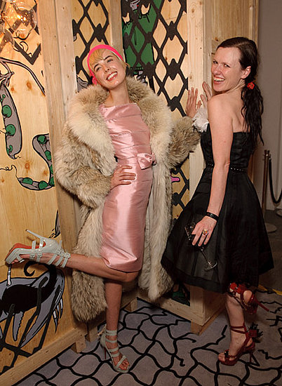 Agyness Deyn and Katie Grand.