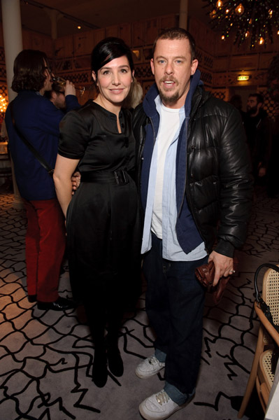 Sharleen Spiteri and Alexander McQueen.