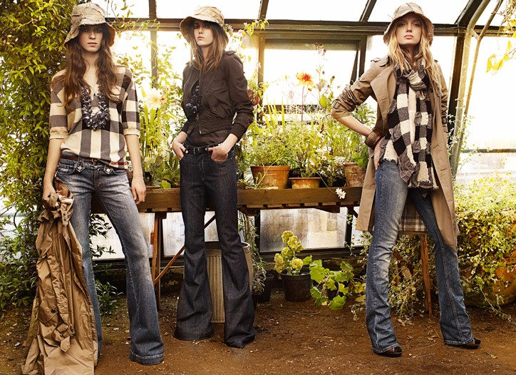 Burberry's Spring 2009 Garden Full of Money Trees