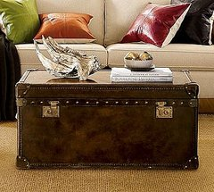 The Expedition Trunk is great for storage and would be an amazing piece for a Lake House or a cabin.
