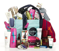 You could win this goodie bag - love it