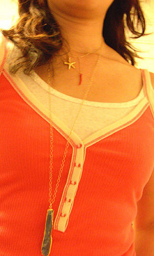 necklace layering