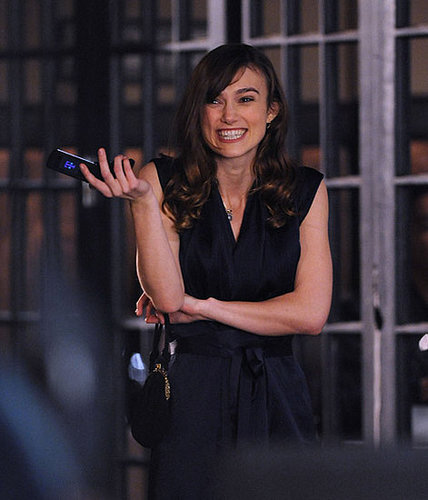 Keira Knightley Set Photos From The Last Night