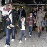 Beckhams Take Flight