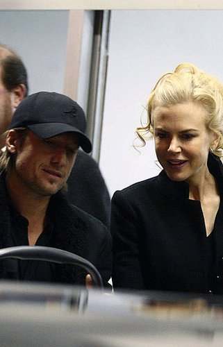 Nicole && Keith arrive in Rome with Sunday