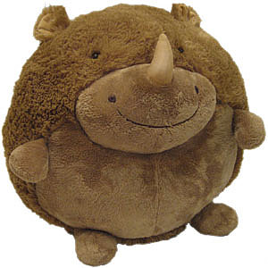 Squishable Rhino