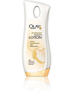 Olay Ultra Moisture In-shower Body Lotion with Shea Butter