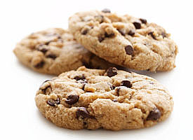 """""""Healthified"""" Chocolate Chip Cookies"""
