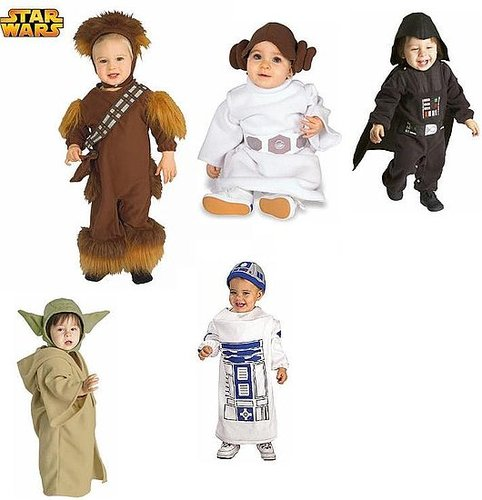 Cute Star Wars Kiddie Costumes