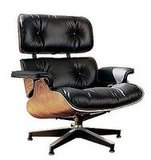 The Eames Lounge Chair ($2,949), if reupholstered, would be a perfect match.