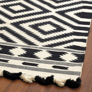 Nice and New: Ballard Designs Elina Dhurrie Rug