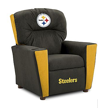 This Kid's NFL Recliner ($139) is no way to train your child's eye for design.