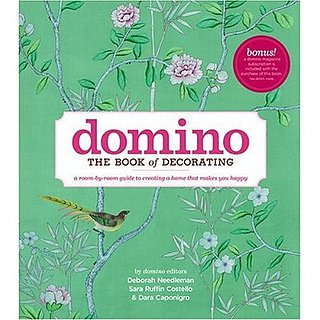Even if Domino has to leave us, you can take comfort by buying the Domino Book of Decorating.