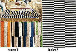 Less or More: Offset Striped Rugs