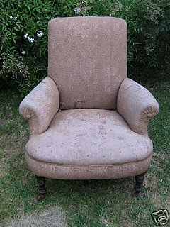 Before and After: Armchair, Oh to be Young Again!