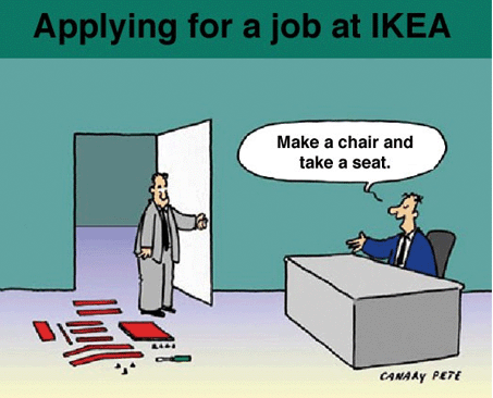 Midday Muse: An Ikea Interview Exam