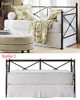 Less or More: Crossbar Iron Daybeds
