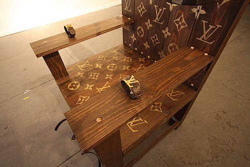 Weird Furniture: Louis Vuitton Electric Chair