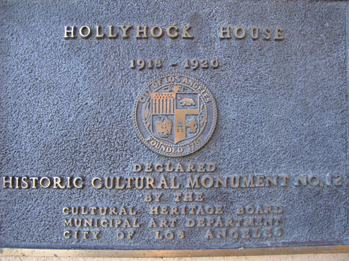 Since 1978, the nonprofit organization Friends of Hollyhock House (FOHH) has worked to promote the house, and has raised funds for restoration projects, established a library of Wright monographs, and organized lectures and public events promoting the house.