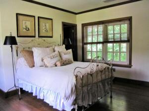 Bedrooms have a spacious, airy feel.