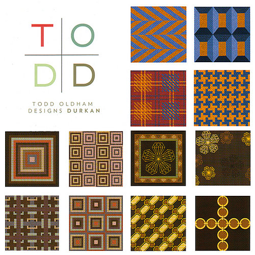 This Just In: Todd Oldham Releases Carpet Series For Durkan